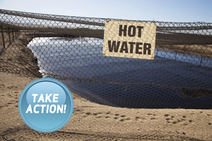 Take Action to Stop Dumping Oil and Gas Wastewater into Open Pits!