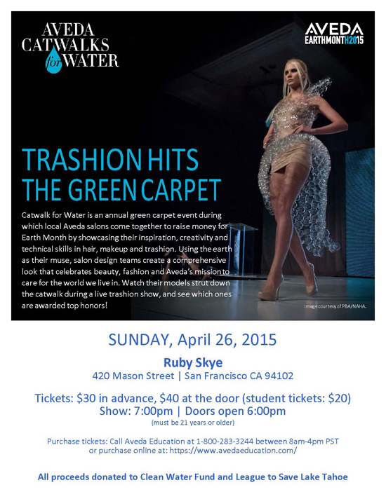 SF Catwalk for Clean Water
