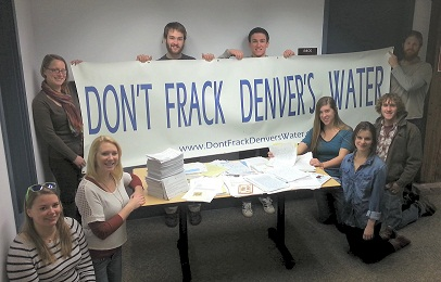 Don't Frack Denver's Water!