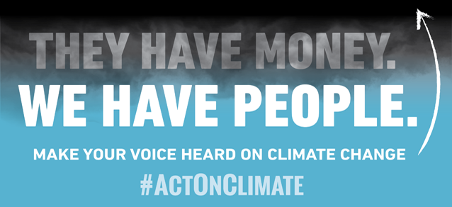 #ActOnClimate
