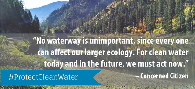 #ProtectCleanWater