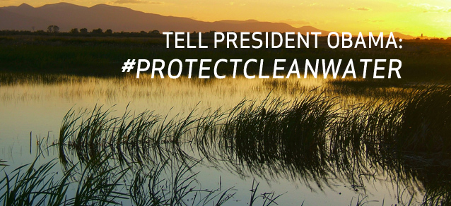 Tell the President: Let EPA finish the job!