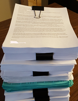 3,000 letters submitted by Clean Water Action
