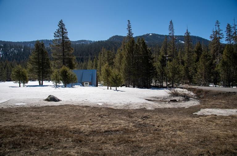Low snowpack in California