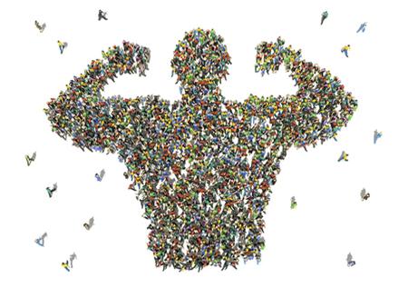 Strengh in Numbers - volunteers. credit_Stockernumber2_iStock