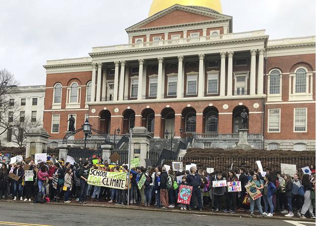 Massachusetts Climate Strike