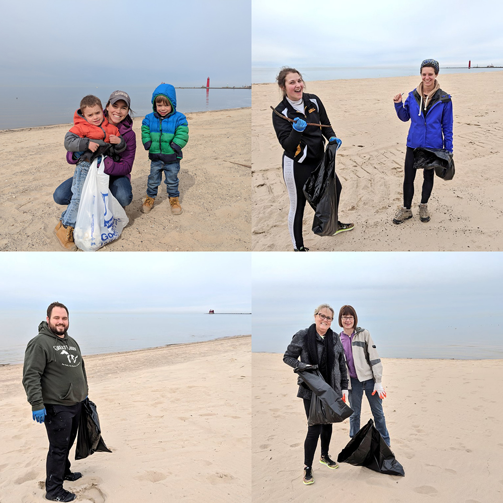 Grand Haven Beach Cleanup