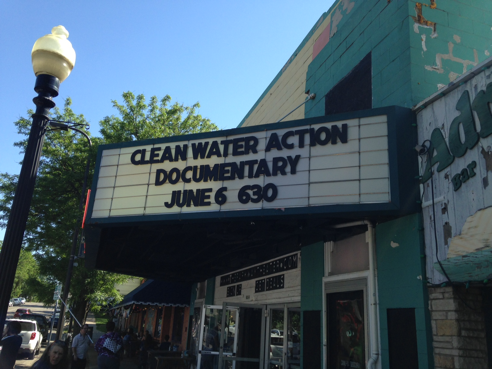 Clean Water at  the Movies