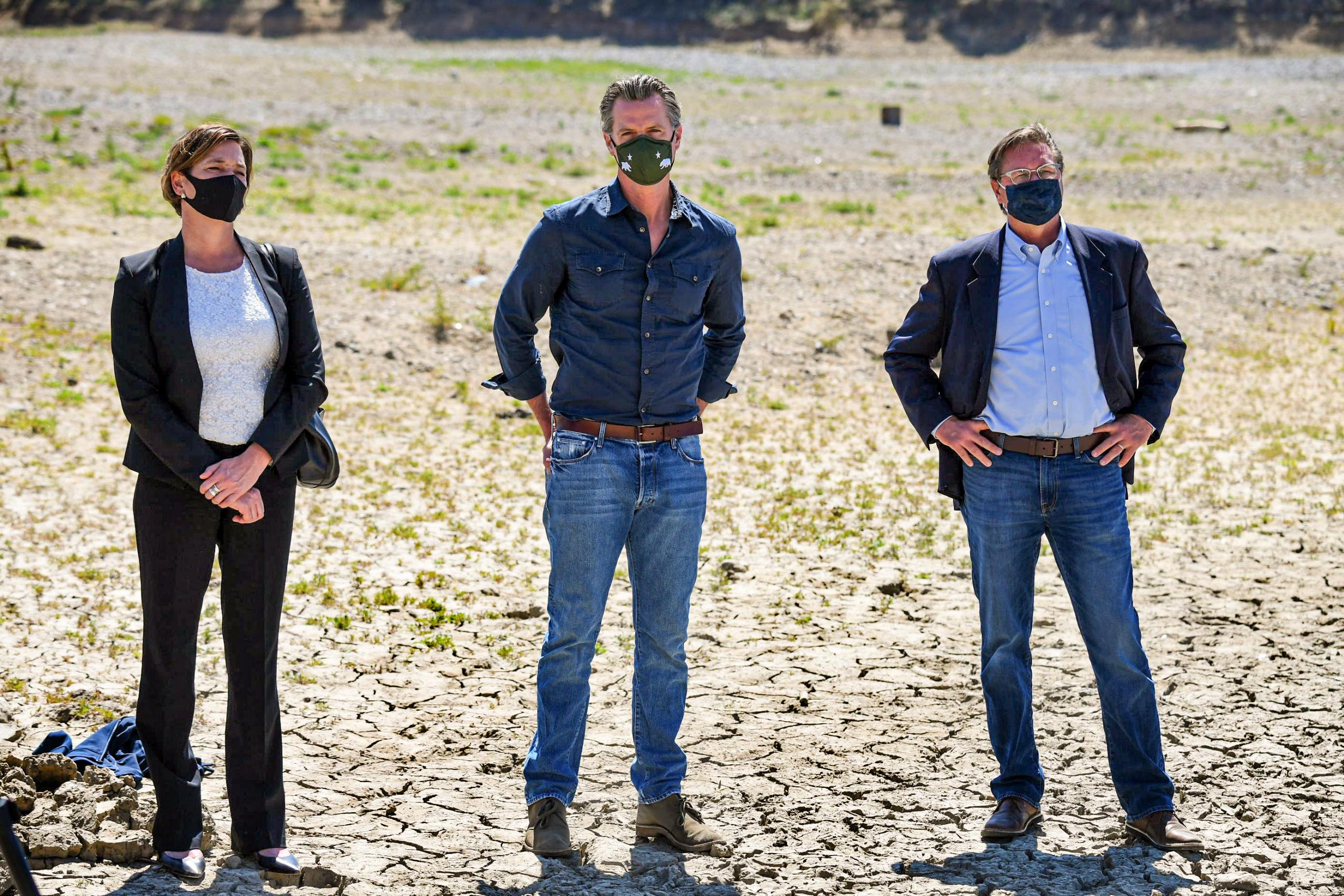 Governor Newsom declares a drought