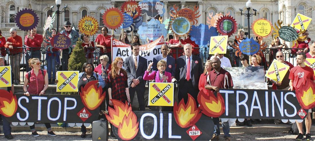 Stop oil trains