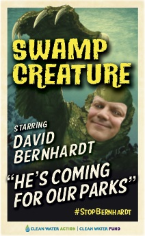 Swamp creature -- David Bernhardt