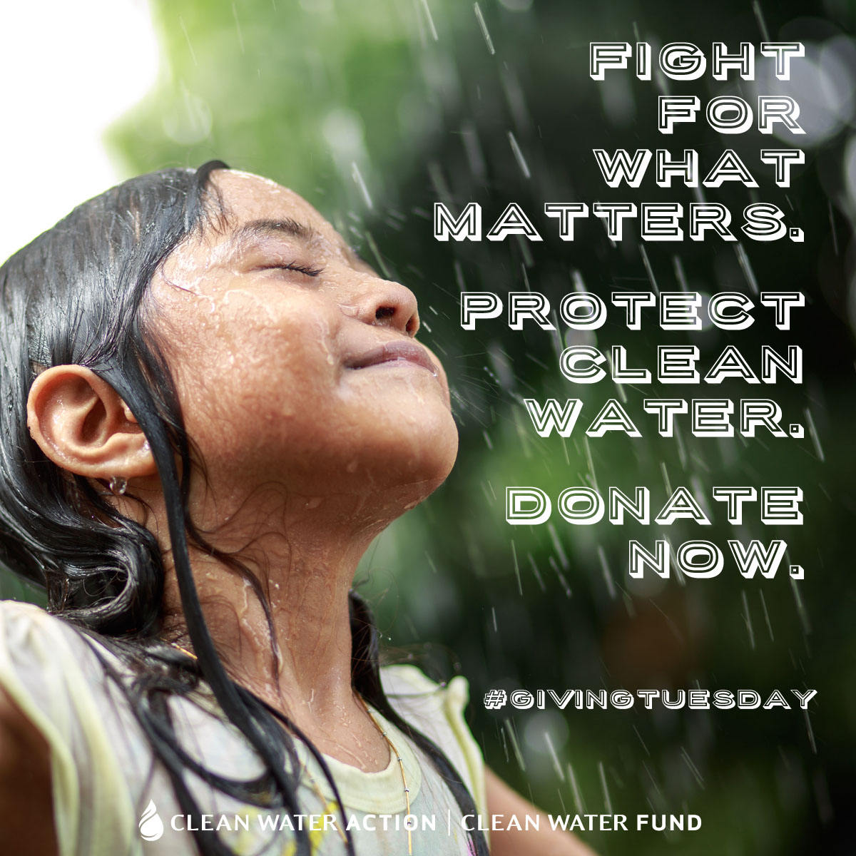 Protect Clean Water on Giving Tuesday.