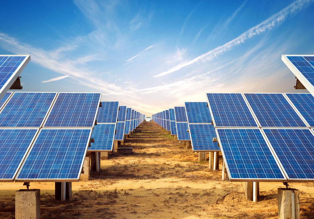 Solar installation. Photo credit :gyn9037 / Shutterstock