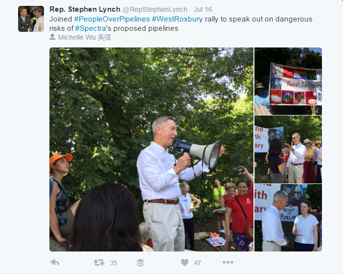 Congressman Lynch - Gas PIpelines