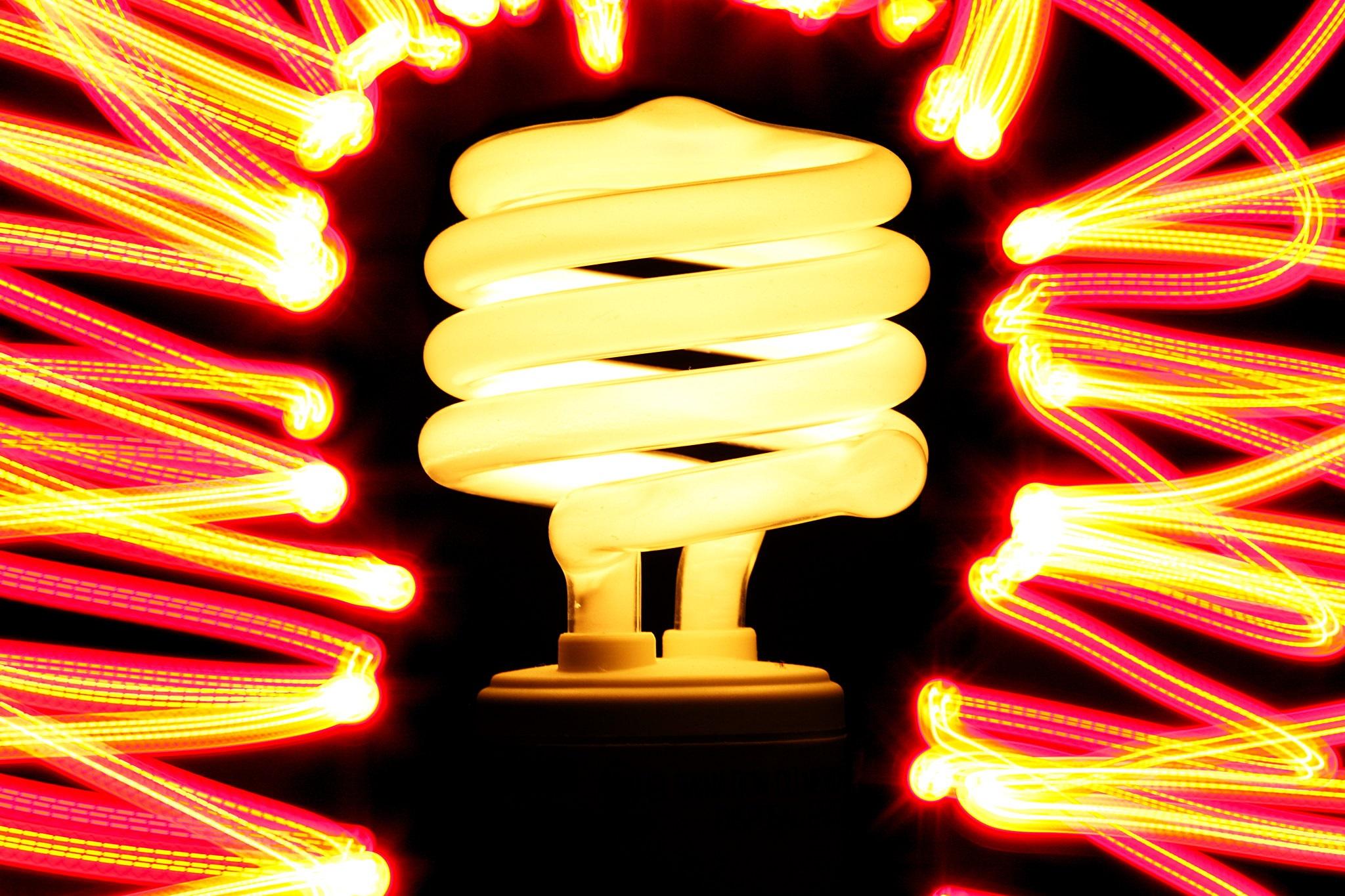 LED Lightbulb -- Credit Jonathan Cohen -- Flickr Creative Commons