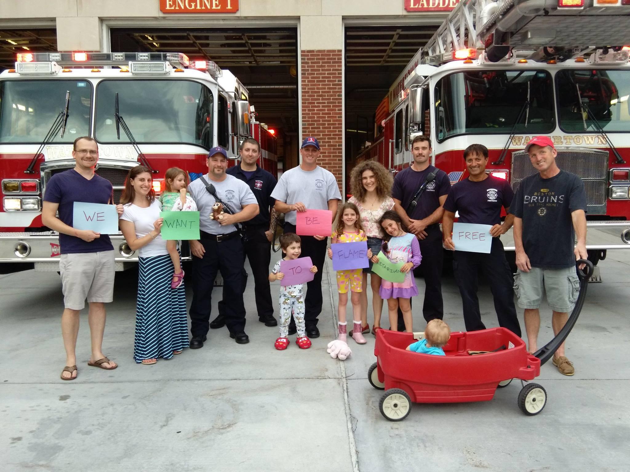 Watertown firefighters