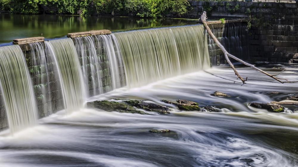 Blackstone River Waterfall. Photo credit: scott conner / Shutterstock