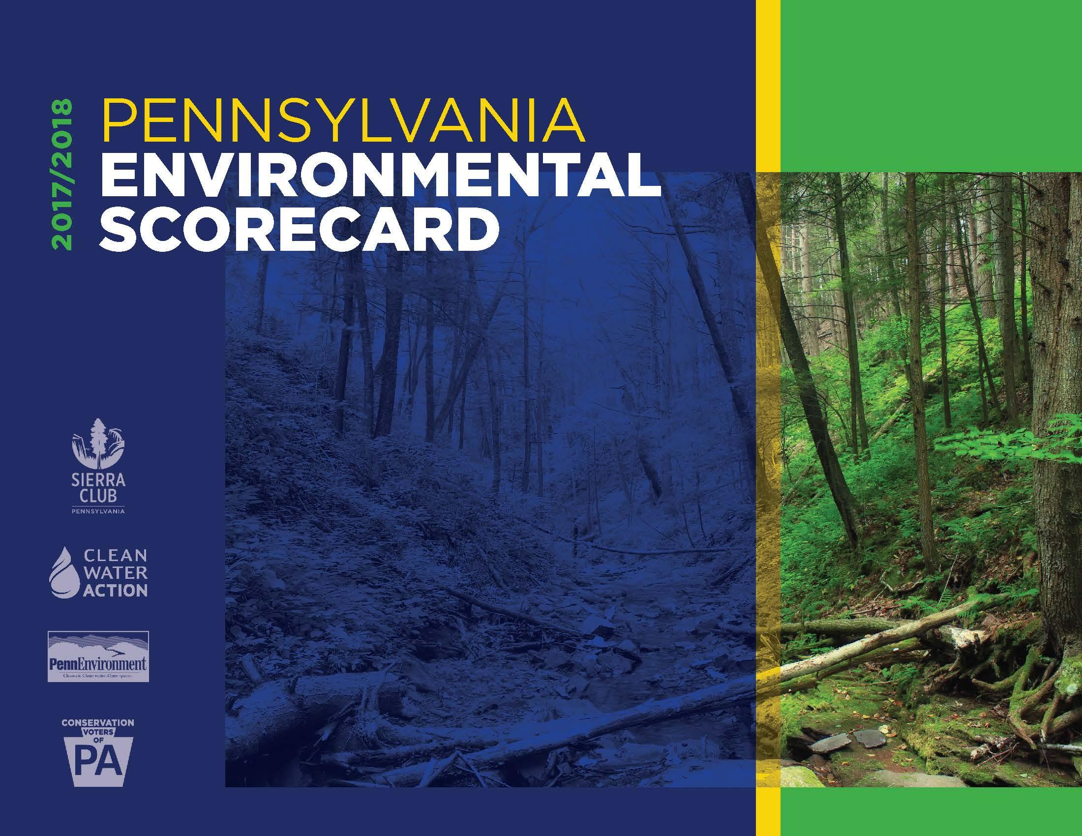 2017/2018 Pennsylvania Environmental Scorecard