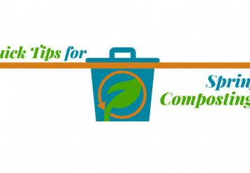 Quick tips for Spring Composting!