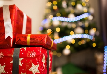 wrapped presents