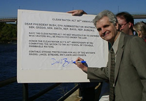 David Zwick Celebrating the 30th Anniversary of the Clean Water Act