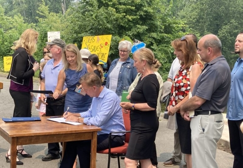 Gov Lamont Signs PFAS bill Photo by Christopher Keating for Courant.com