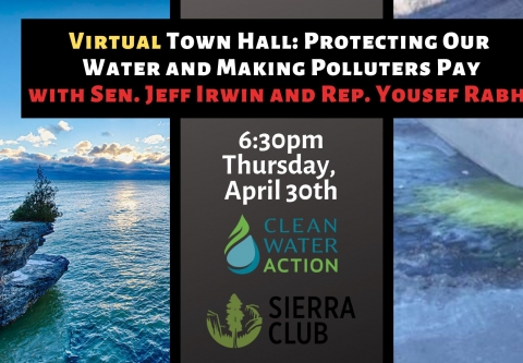 Michigan Polluter Pay Virtual Town Hall 4/30/20 6:30 PM