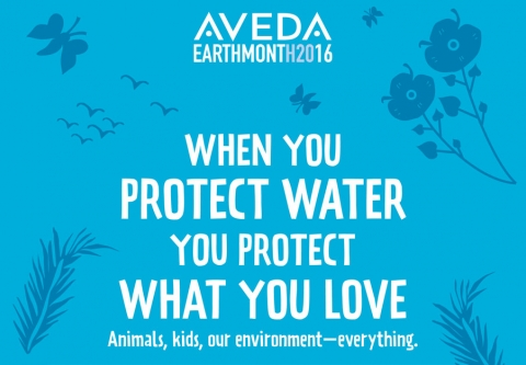 Aveda Earth Month Materials