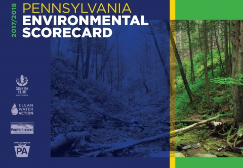 2017/2018 Pennsylvania Environmental Scorecard