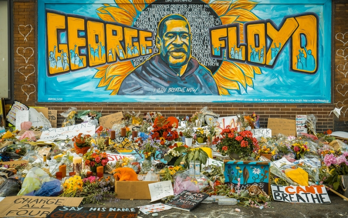 George Floyd memorial. Photo credit: chaddavis.photography, Creative Commons license