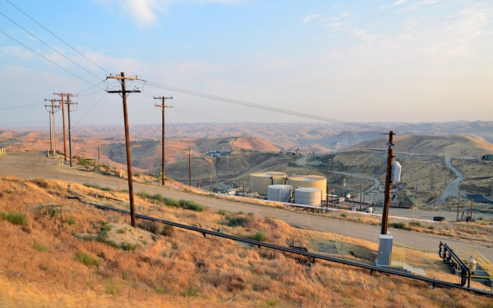 oil and gas infrastructure in the Central Valley of CA