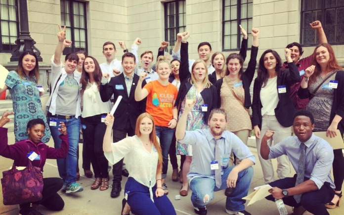 clean water lobby day by jenny vickers
