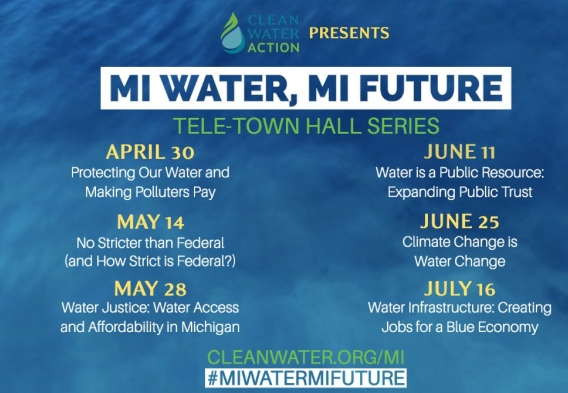 MI Water, MI Future virtual town hall series schedule