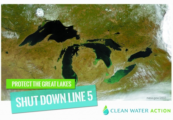 Shut Down the Line 5 Pipeline