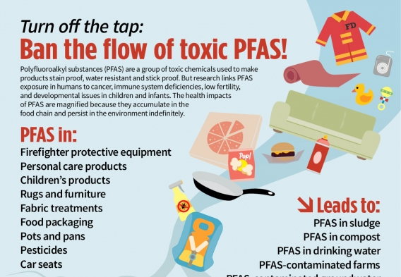 Ban the Flow of Toxic PFAS