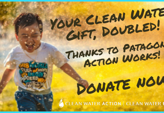 Double your donation for clean water
