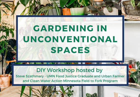 Gardening in Unconvential Spaces - DIY Workshop
