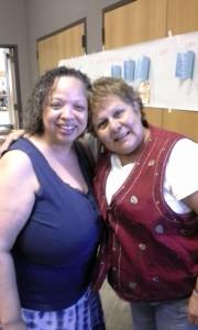 Vernice and Rosanna
